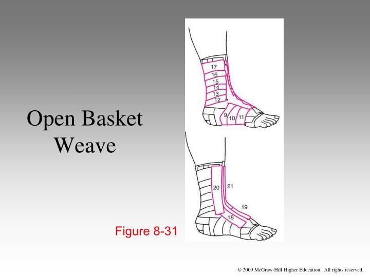 Open Basket Weave
