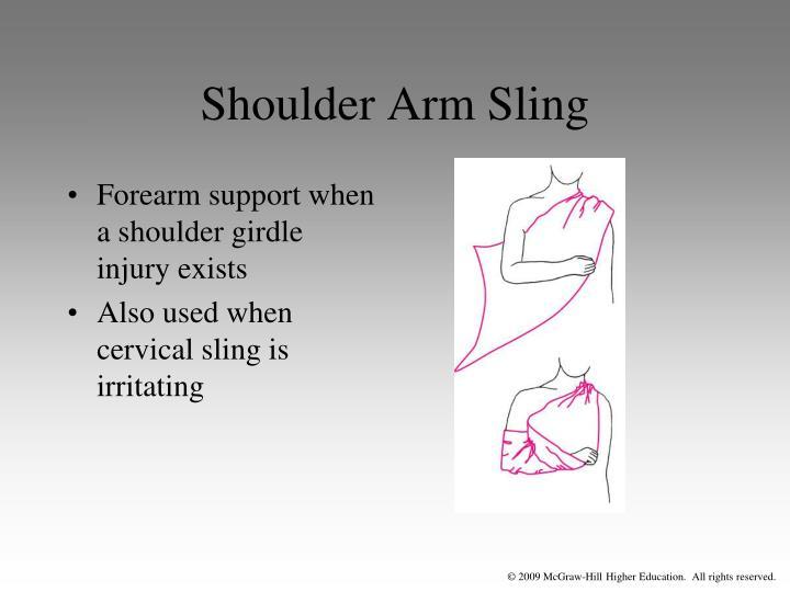 Shoulder Arm Sling
