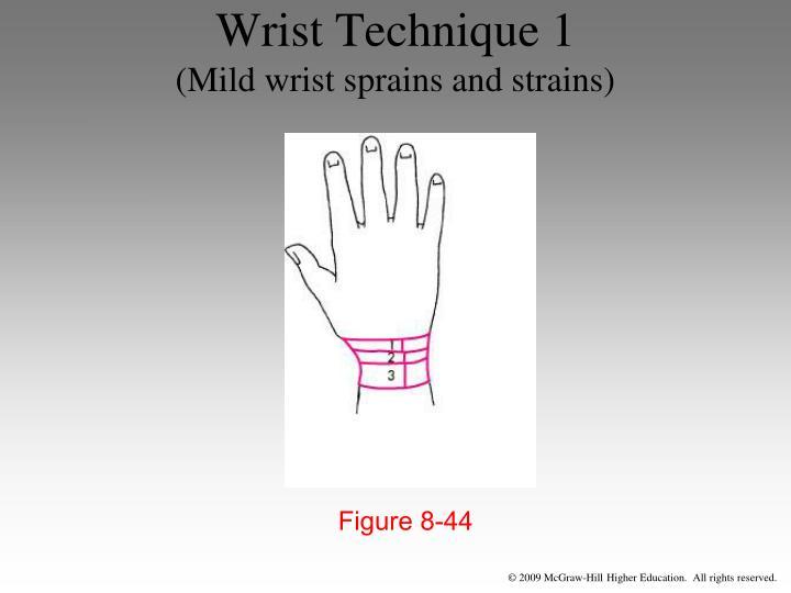 Wrist Technique 1