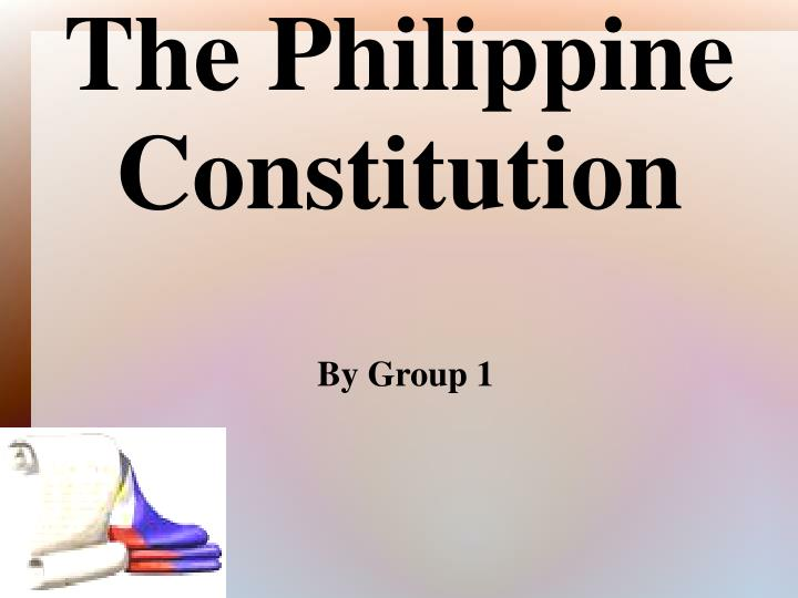 philippine constitution Philippine constitution mark stevens department of state traces political history of the philippines, from pre-colonial times to present day describes developed concepts of law and order and organized society long before spanish conquest in 1512 details continued development during 300 years of spanish rule.