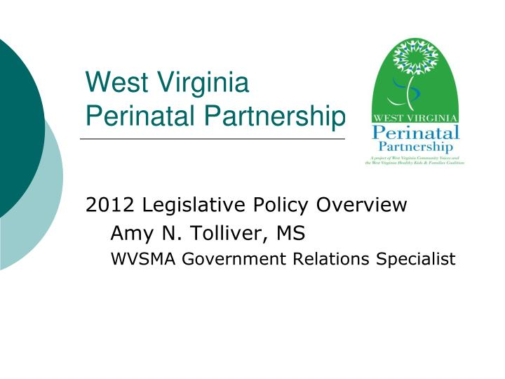 west virginia perinatal partnership n.