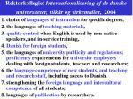 rektorkollegiet internationalisering af de danske universiteter vilk r og virkemidle r 20041