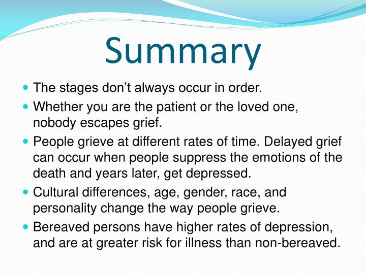 ppt the 5 stages of grief powerpoint presentation id 1010136