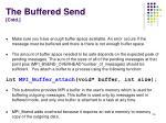 the buffered send cntd