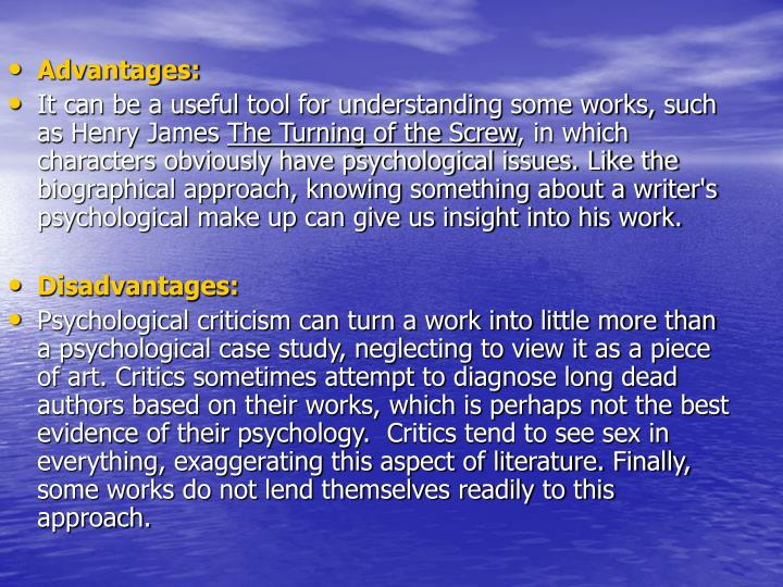 psychological approach in literary criticism