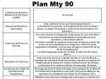 plan mty 907