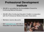 professional development institute