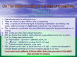on the edge nursing in the age of complexity1