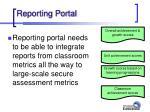 reporting portal