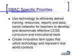 sbac specific priorities1