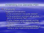 amending the general plan1