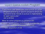 open space action program