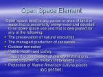 open space element1