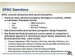ofac sanctions