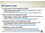us export laws