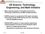 us science technology engineering and math initiative
