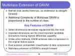 multiclass extension of davm1