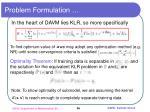 problem formulation1
