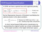 svm based classification