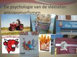 de psychologie van de vleeseter antropomorfismen