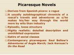picaresque novels