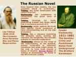 the russian novel1