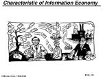 characteristic of information economy
