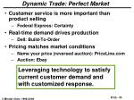 dynamic trade perfect market