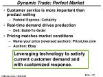dynamic trade perfect market127
