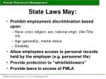 state laws may