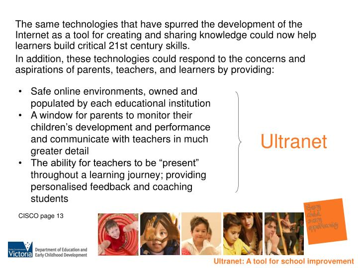 The same technologies that have spurred the development of the Internet as a tool for creating and sharing knowledge could now help learners build critical 21st century skills.