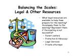balancing the scales legal other resources