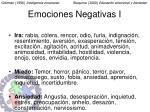 emociones negativas i