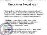 emociones negativas ii
