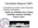 fern ndez abascal 1997