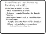asian films and their increasing popularity in the us