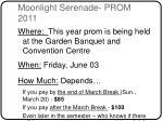 moonlight serenade prom 2011