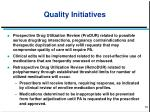 quality initiatives