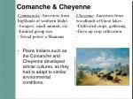 comanche cheyenne