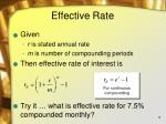 effective rate