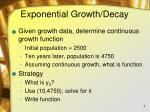 exponential growth decay1