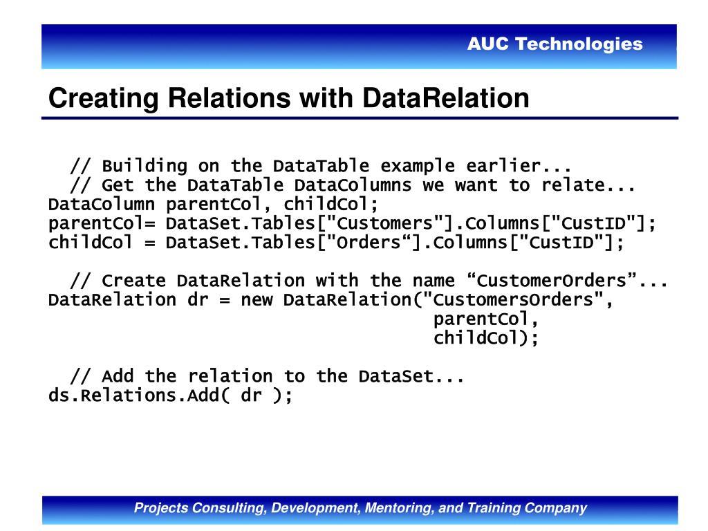 PPT - ASP NET & ADO NET PowerPoint Presentation - ID:1010611