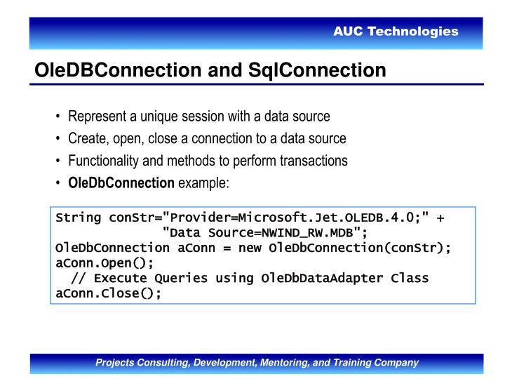 Represent a unique session with a data source