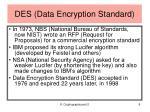 des data encryption standard