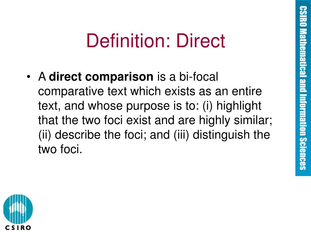 Definition: Direct