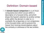 definition domain based