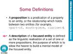some definitions10