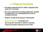 dispose carefully1