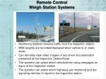 remote control weigh station systems1
