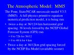the atmospheric model mm5